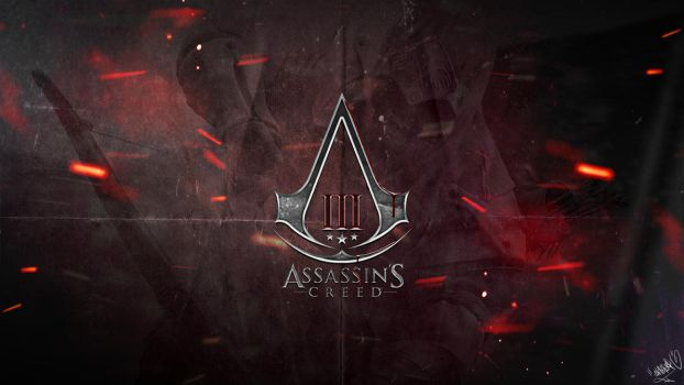 Assassin's Creed 3 - Logo Wallpaper by emperaa