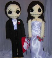 Bride and Groom Dolls by Zosomoto
