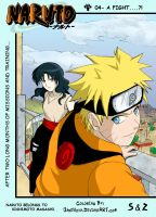 Naruto ND-CH 4-Cover  -Collab- by FoxxBrush