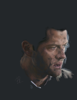 Castiel layer by Blakravell