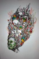 Psychedelic Masterpieces. work by Epjey Pacheco. by Blizzward