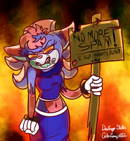 A Message for for all Spammer :3 by Reptonic
