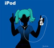 Bubbles iPod by InuMitsu