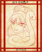 The Year of the Snake by Ameryliz