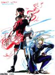 SCARLET WITCH N QUICKSILVER by UNDISCOVER-art