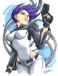 marker: Motoko Kusanagi by KidNotorious