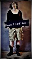 Downloading by YellowMouse