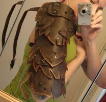 Demon armor progress by missmonster