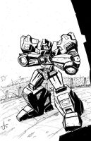WFC Ironhide by dcjosh