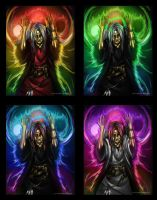 Stages of Raistlin's Extacy by Kabudragon