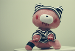 Pink Gloomy bear by S1ghtly