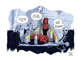 20 years of Hellboy by Andrew-Ross-MacLean
