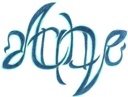 Ambigram by ocean-crystal
