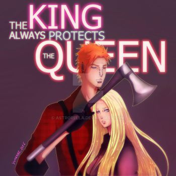 The king always protects the queen by Yumanae