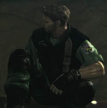 Chris Redfield by Crisiscore991