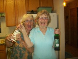 Tipsy Grandmothers by penny-duchess-stock