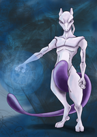 Mewtwo by Eyeless1703