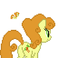 Golden Harvest back sprite by fanofetcetera