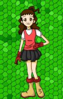 Renata in Digimon style by Mistery-forever