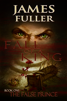 Fall Of A King The False Prince Book Cover by UberVestigium