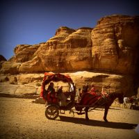 At Petra by lostknightkg