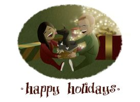 happy holidays 2012 by endoftheline