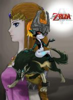 Legend of Zelda Twilight Princess by sukinorules