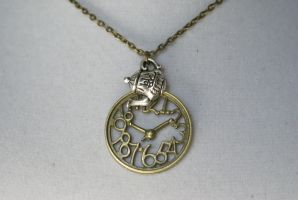 Time for Tea Necklace by MonsterBrandCrafts