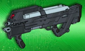 Militech M31A3 Advanced Infantry Combat Weapon by Grebo-Guru