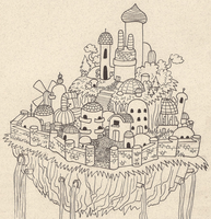 City in the Sky by CarrieExMachina