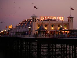 Brighton Pier by Asligg