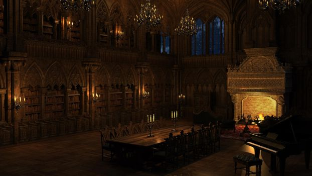 A Gothic Tale variation 002 by SirTancrede
