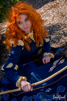 Armed and Ready - Merida by NieRieChie