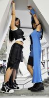 Tifa and Rinoa cosplay by PrincessRiN0a