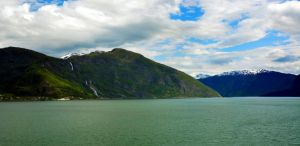 Sailing the fjords to Skjolden 26 by abelamario