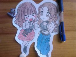 Me and my sister xD by TsuchiKuroi