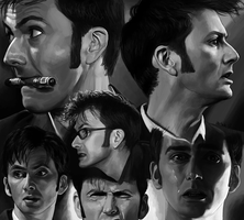 12 David Tennant study by harbek