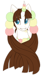 Commission  -  Mochiko by Crystal-Comb