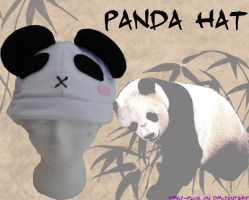 Panda Fleece Hat by Demi-Plum