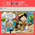 Ask Bad-Ass Luffy - 02 by JaredofArt