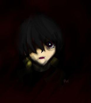 Mokuba into Darkness by pinkVEGETA5