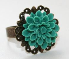 Zadie Ring - Turquoise by False-desire