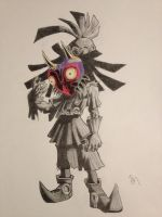 Skull Kid by BrenoAxe