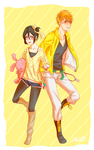Yellow IchiRuki by Cygnetzzz