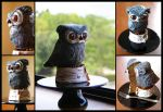 Little Owl Cake by CakeUpStudio