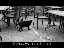 ::Follow The Line:: by AzarielsDream