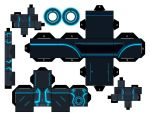 Tron Legacy Blue Program by mikeyplater