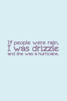 Drizzle by inkandstardust
