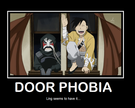 Ling has...door phobia by Nefertekas