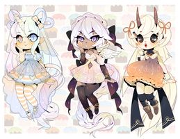 OPEN: CUTE ADOPTABLE AUCTION by Lolisoup